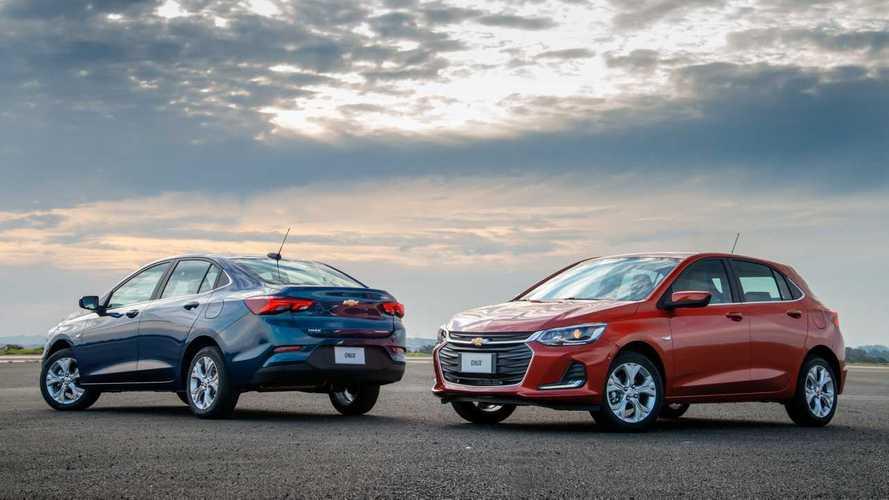 Chevrolet Onix e Onix Plus fazem dobradinha na 1ª quinzena de janeiro