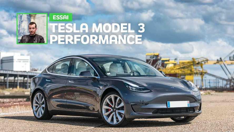 Essai Tesla Model 3 Performance (2019) - Tenir tête aux meilleures sportives