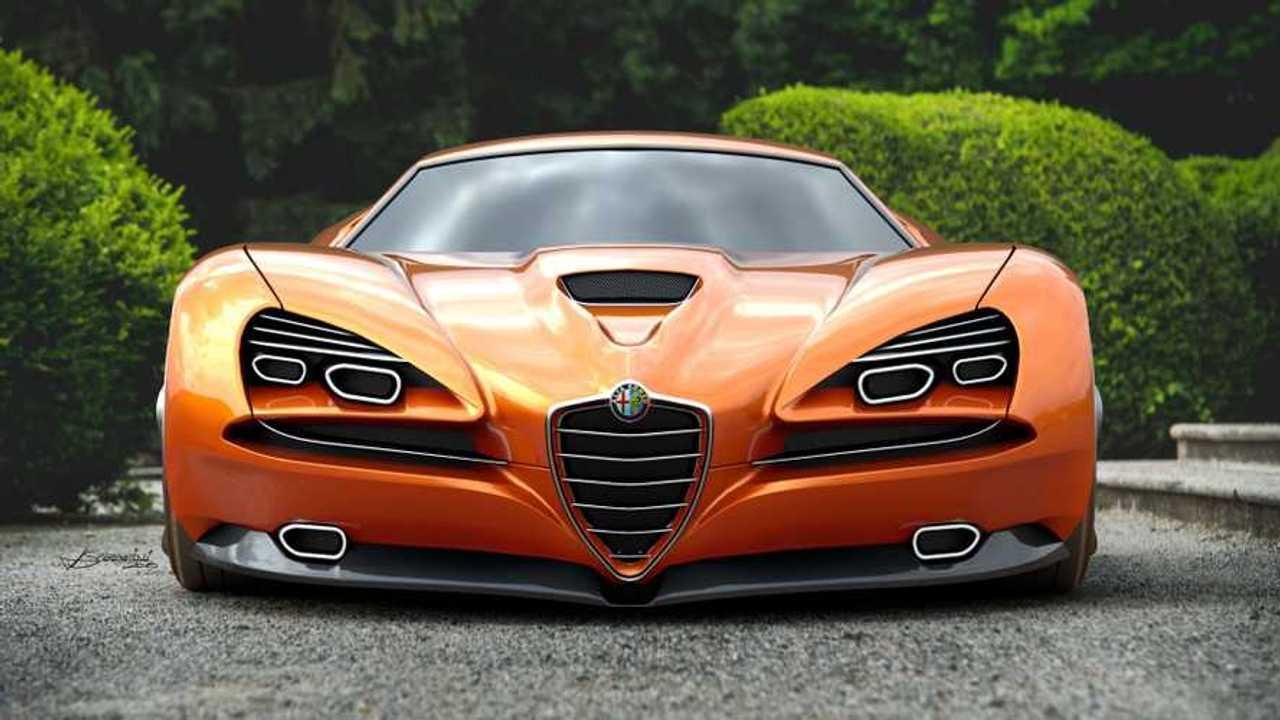 Concetto di Alfa Romeo Montreal Vision GT