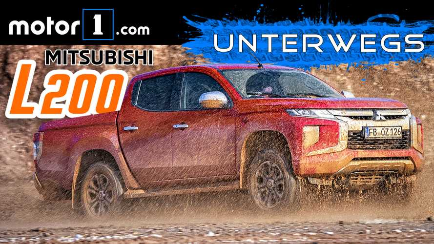 Video: Mitsubishi L200 - Esel unter den Autos im Test