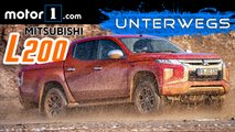 video mitsubishi l200 pickup test ford ranger
