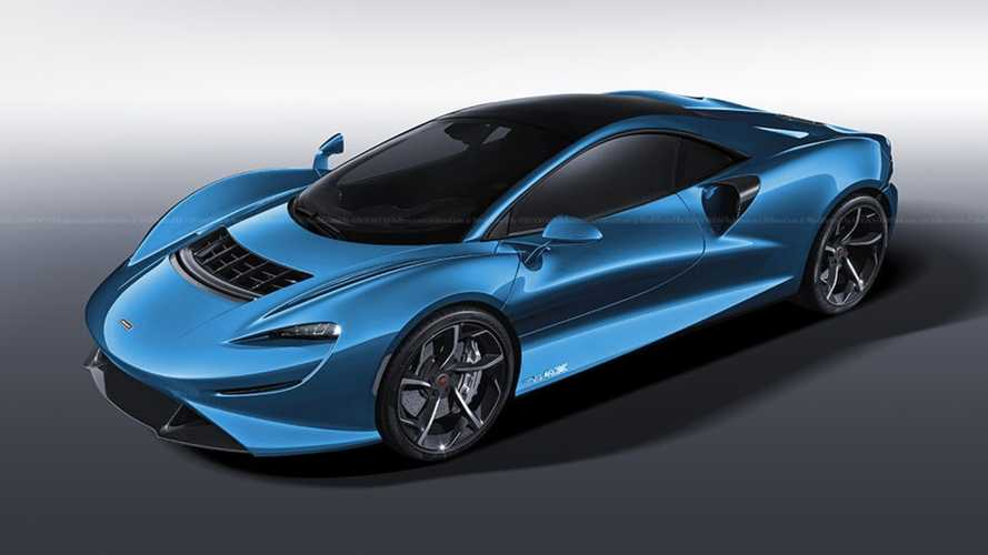 McLaren Elva Coupe rendering does the obvious