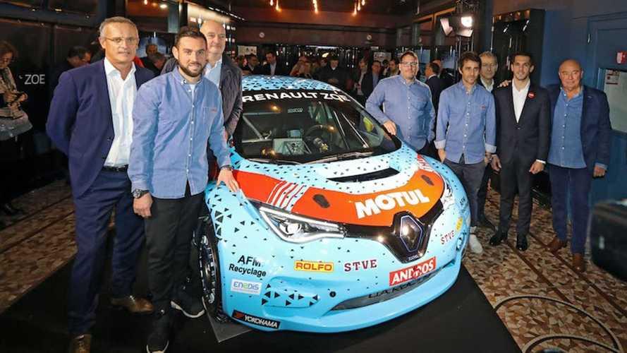 Renault Zoe grimpe à 340 ch pour l'e-Trophée Andros