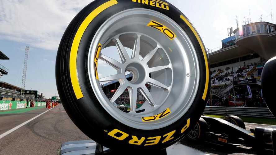 Pirelli unveils prototype 18-inch F1 tyres