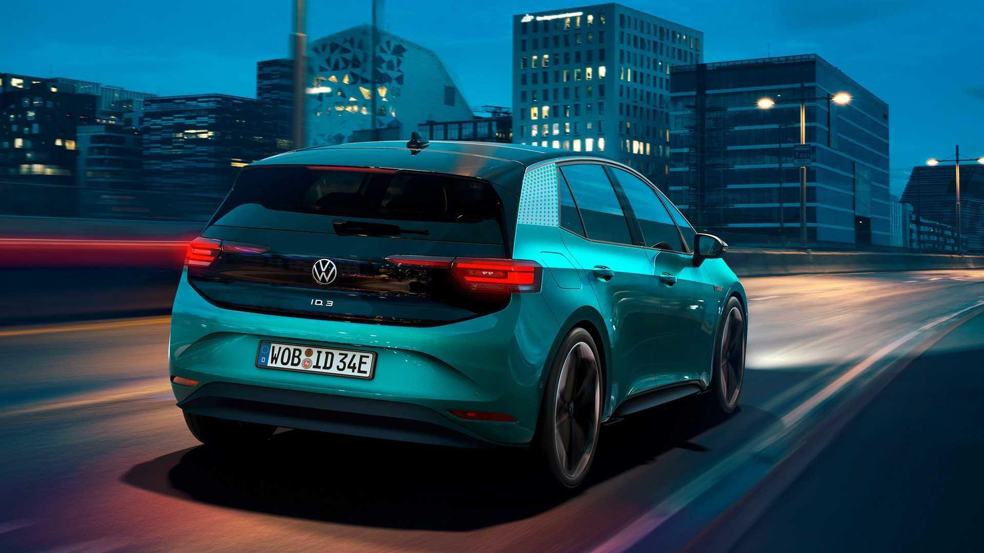 Este robot de Volkswagen es un punto de recarga móvil para eléctricos Volkswagen-id-3-2019