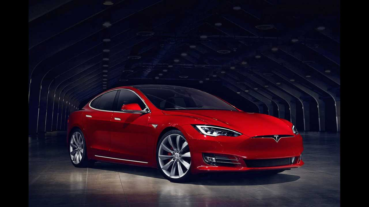 Honorable Mention: Tesla Model S P100D