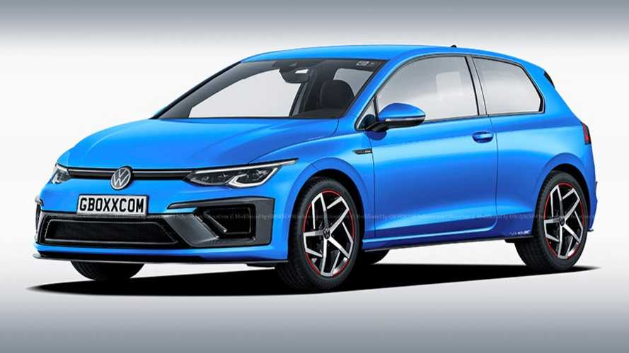 VW Golf 8 Three-Door Hatchback Rendered, But It Won't Happen