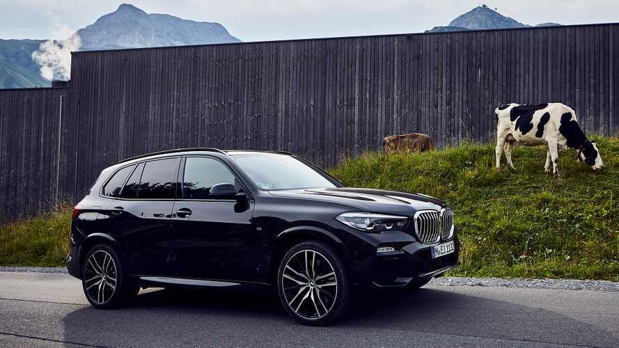 BMW вывела на рынок суперэкономичный X5