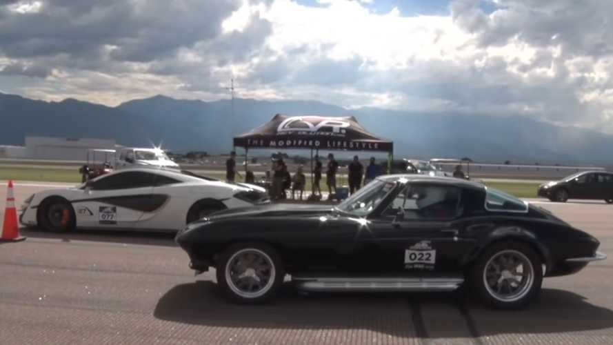 1967 Chevy Corvette Destroys Supercars