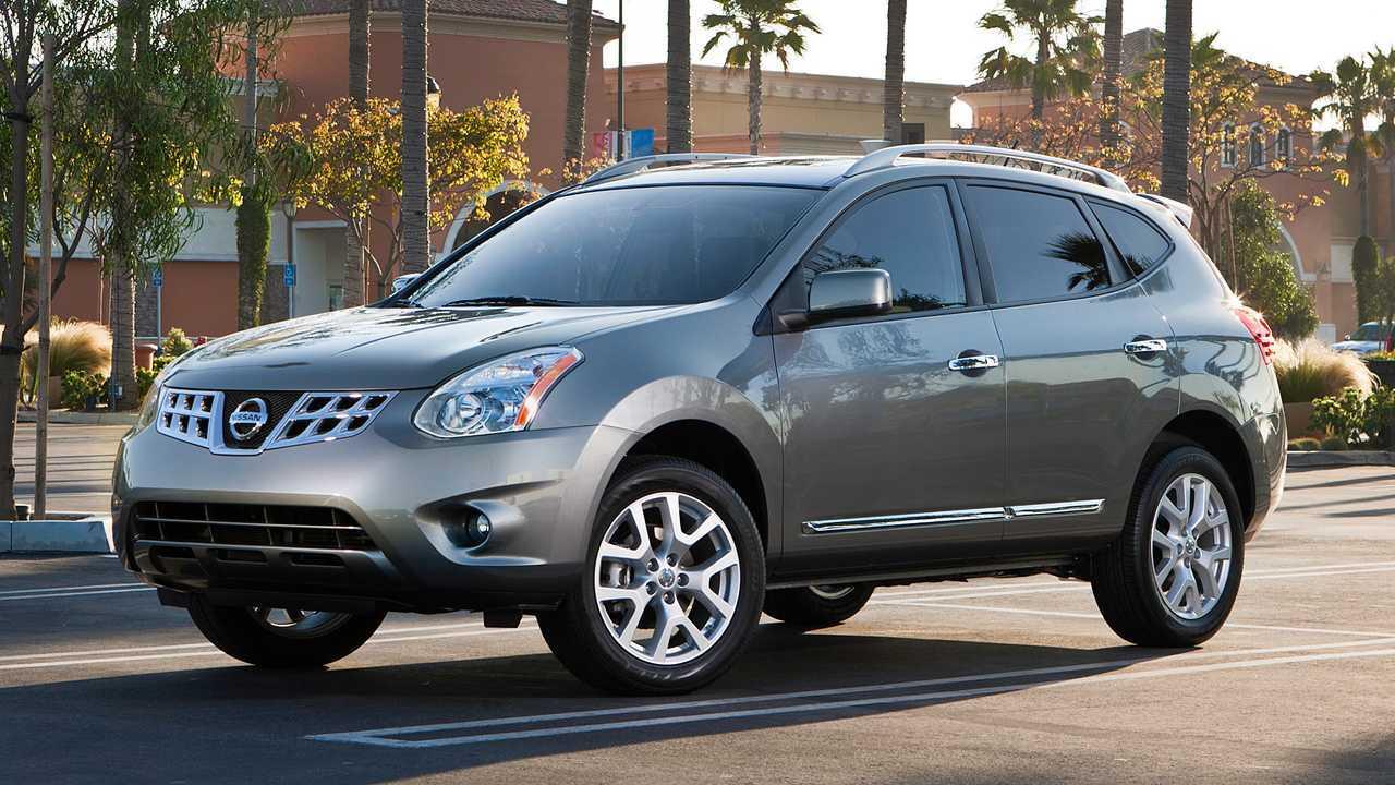 11. 2010-2013 Nissan Rogue