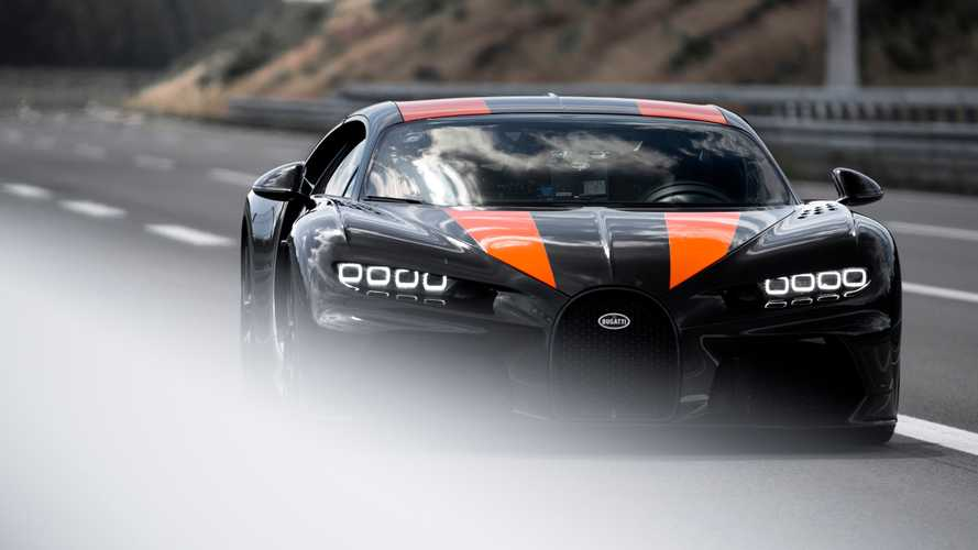 Bugatti Chiron Super Sport Briefly Went Airborne At 278 MPH
