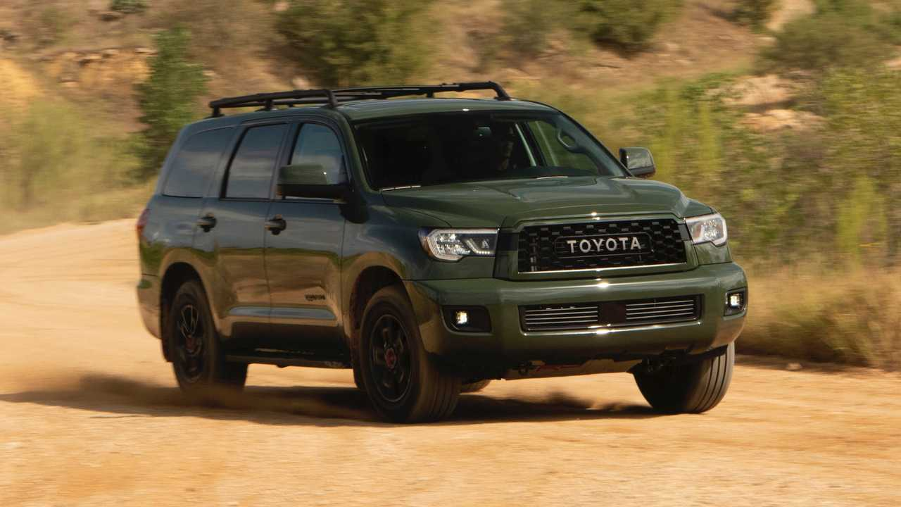 2020 Toyota Sequoia Trd Pro First Drive Adventure Party Of Seven