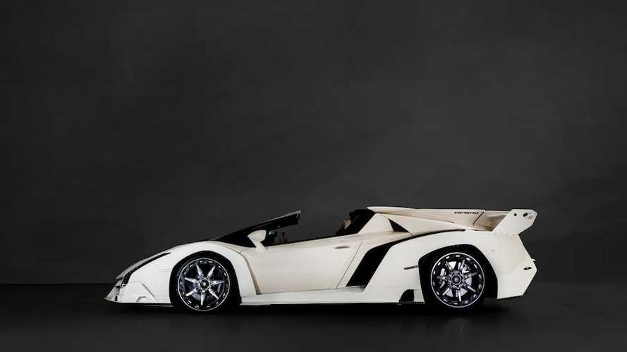 2014 Lamborghini Veneno Roadster sold at auction for over £6.7 million