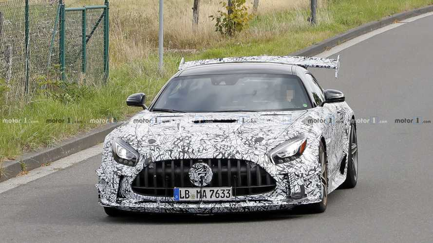 Mercedes-AMG GT Black Series new spy photos