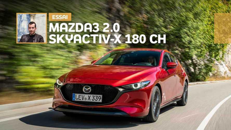 Essai Mazda3 2.0 Skyactiv-X 180 ch - Vraie révolution ?