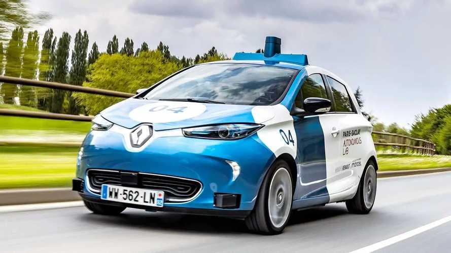 Renault Zoe als Robo-Taxi