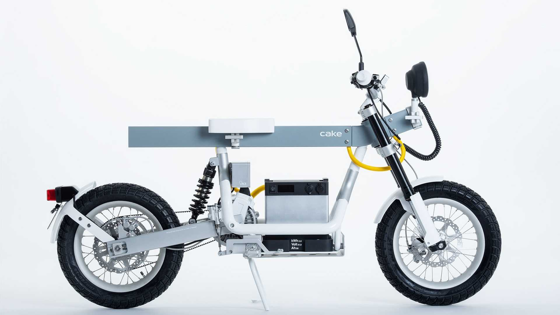 New Cake Ösa Motorcycle Is All About Function, Not Form