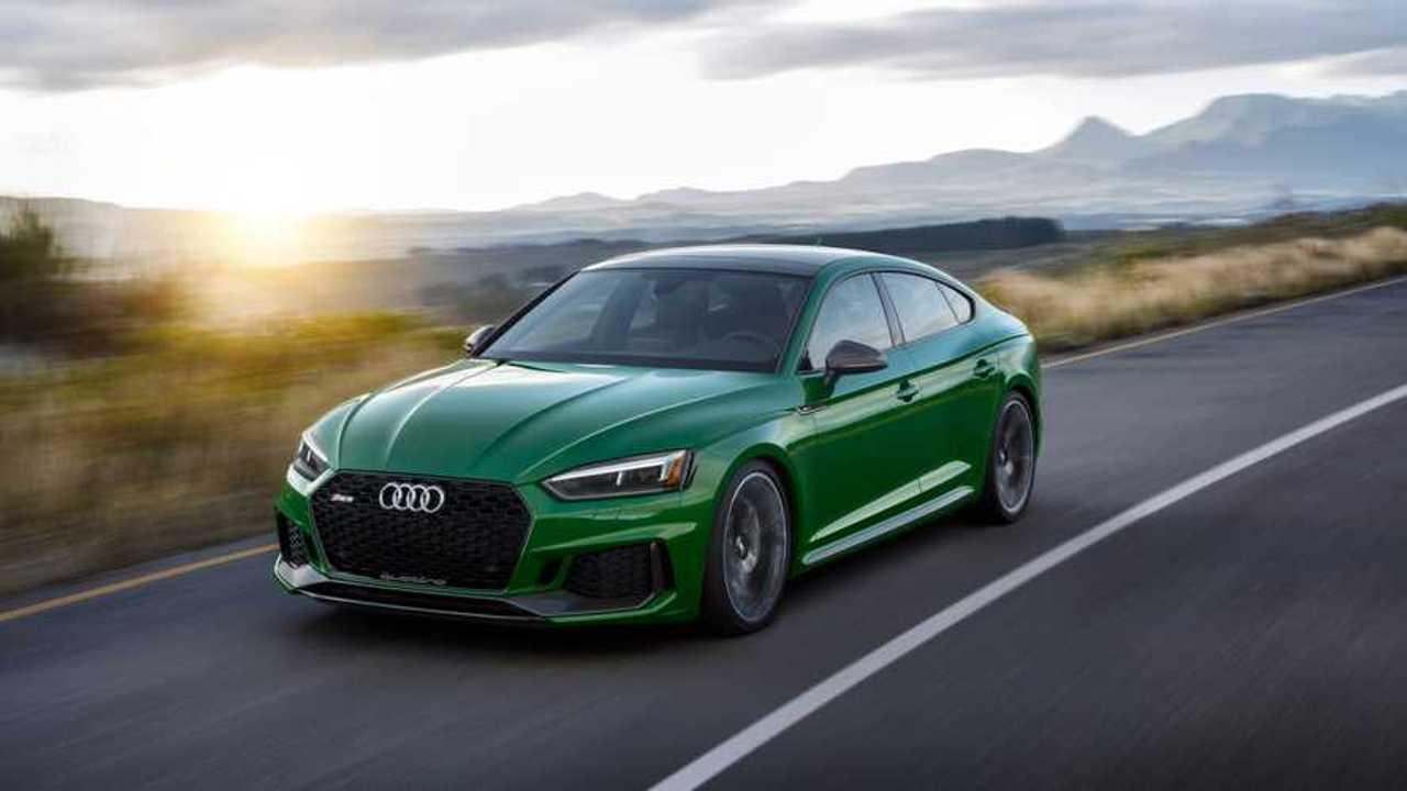 Audi RS5 Sportback Sonoma Green для России