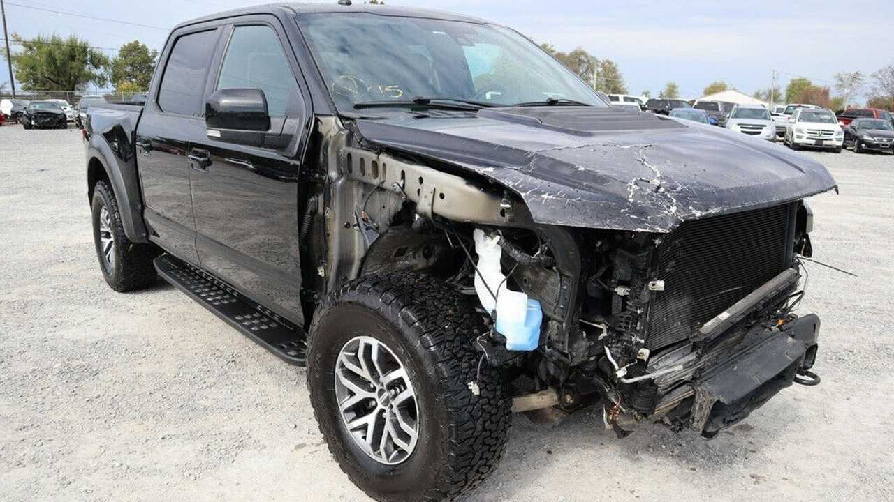 Would You Pay This Much For A Wrecked Ford Raptor?