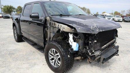 Would you pay this much for a wrecked ford raptor