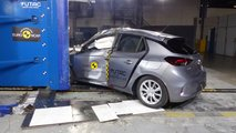 Opel Corsa (2019) im EuroNCAP-Crashtest