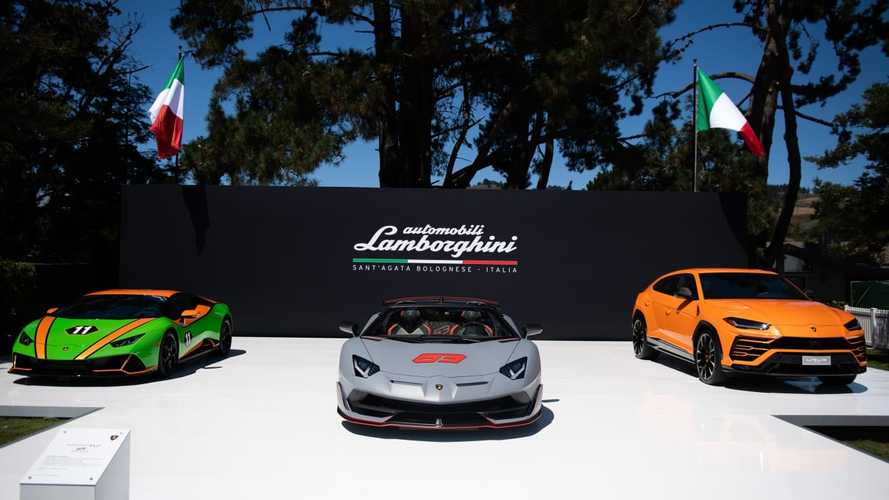 Lamborghini a Pebble Beach 2019