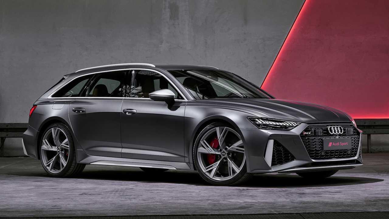 Audi рассекретила лютый универсал RS6 Avant