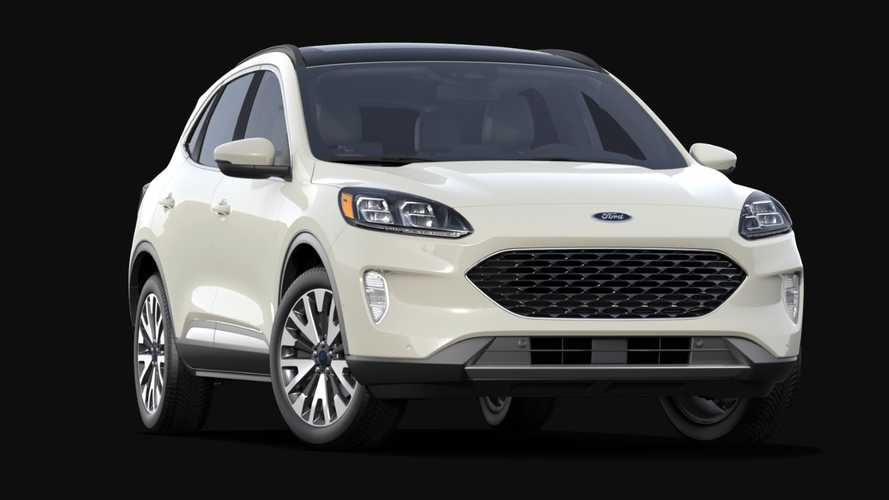 2020 Ford Escape most expensive version