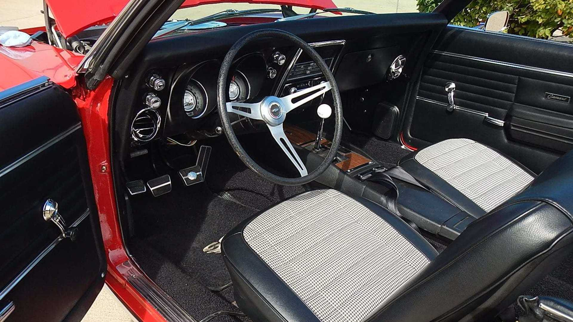 """[""""Drop The Top In This 1968 Chevrolet Camaro RS/SS Convertible""""]"""