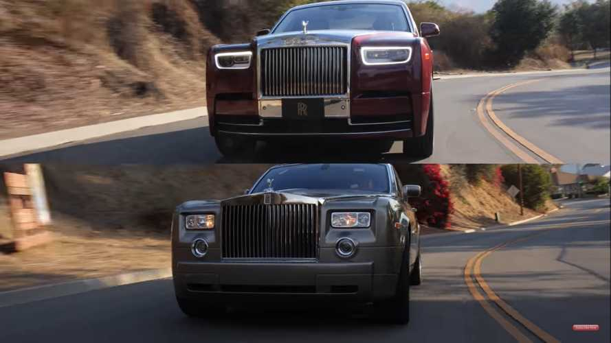 How Does The 2004 Rolls-Royce Phantom Hold Up To The $600K New One?