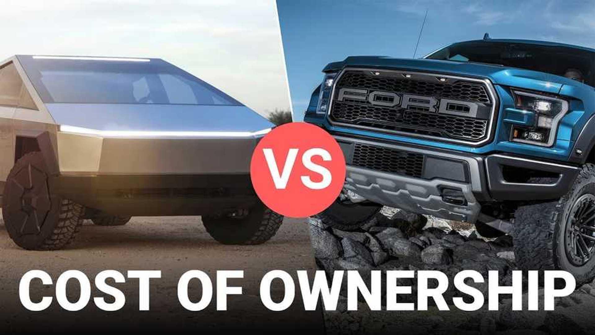 Cost Analysis: Tesla Cybertruck Vs Ford F-150 Pickup Truck