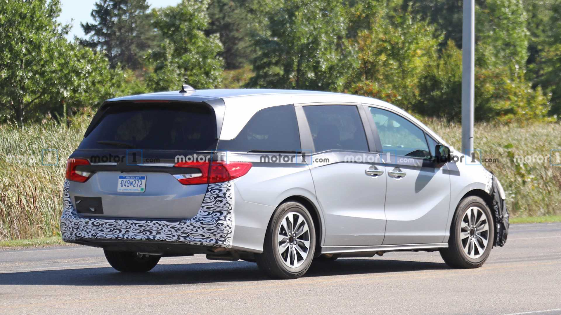 honda odyssey will receive a midcycle refresh for 2021