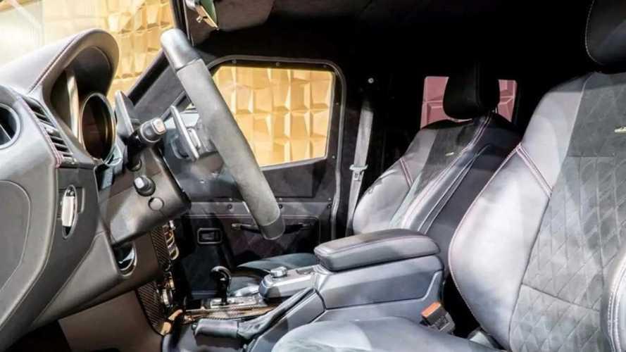 Gruma ENOK P1 armoured Mercedes G500
