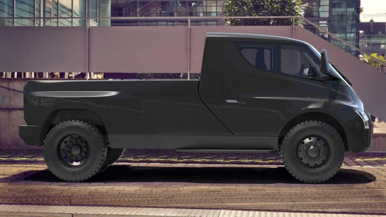 Tesla Truck 3D