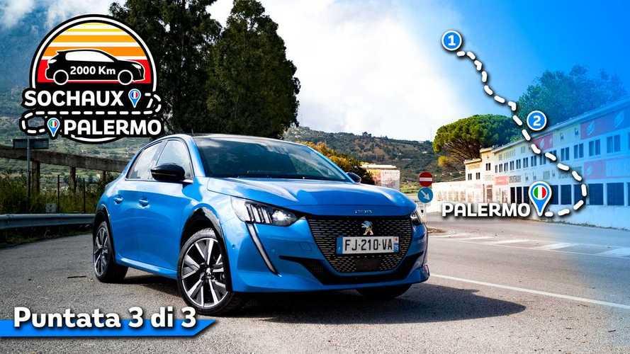 Nuova Peugeot 208, il nostro Roma - Palermo fino alla Targa Florio