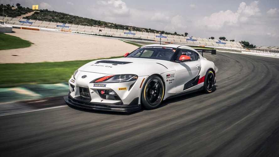 El Toyota GR Supra GT4 ya está homologado y listo para competir