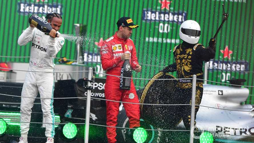Vettel no fan of 'shitty' F1 trophies or Mexico's 'selfie guy'