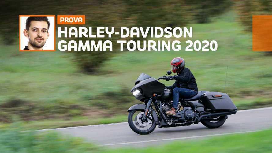 Harley-Davidson Touring 2020, la prova su strada