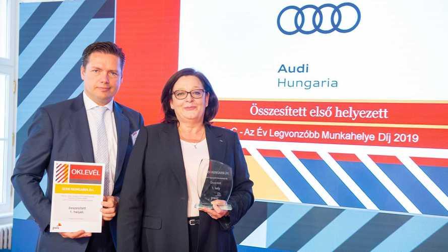 2019 Legvonzóbb Munkahelye díjat nyert az Audi Hungaria