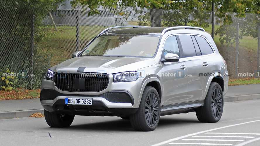 Photos espion Mercedes-Maybach GLS
