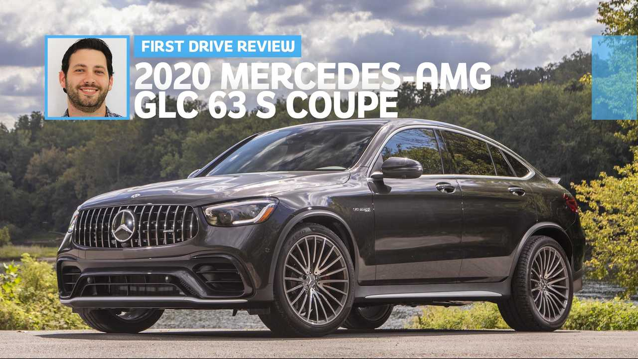 2020 Mercedes Amg Glc 63 S Coupe First Drive Say Yes To The S