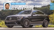 2020 mercedes amg glc 63 s coupe first drive