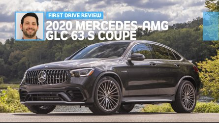 2020 Mercedes-AMG GLC 63 S Coupe first drive: Say yes to the S
