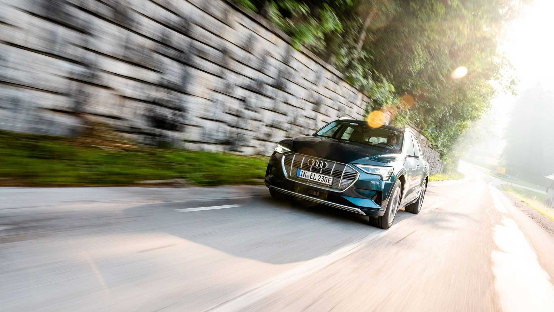 Audi: e-tron is the top-selling electric SUV in Europe
