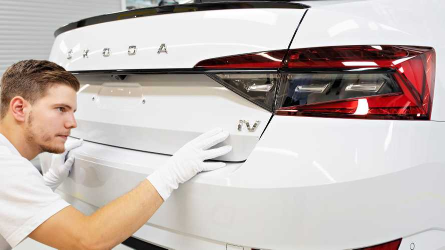 Škoda Superb iV Enters Series Production
