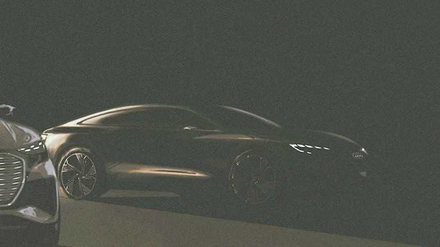 Egy rejtélyes, A7-méretű elektromos autó bemutatójára készül az Audi
