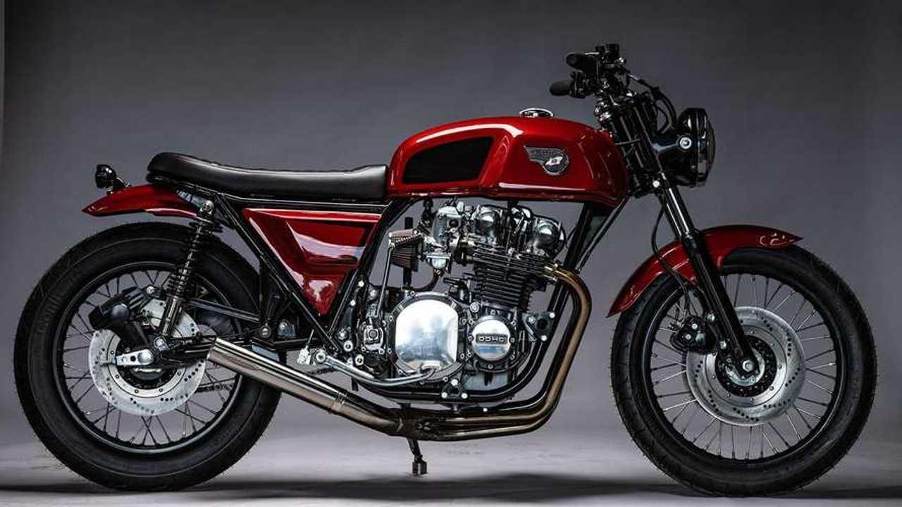 MotoRelic: 1978 Kawasaki KZ1000 - Profile, Right