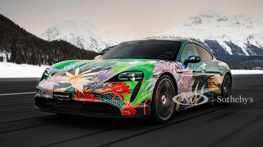 Würden Sie dieses Taycan-Kunstwerk fahren?