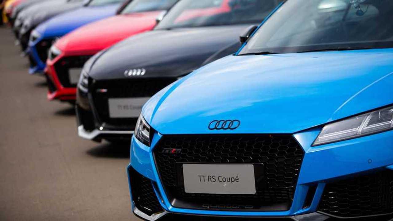 Esportivos do Audi Driving Experience
