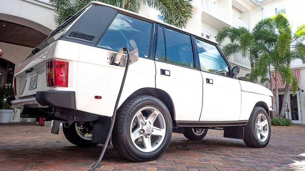 Electrified Tesla-powered Range Rover